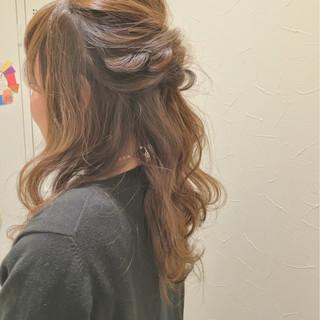 くるりんぱ ヘアアレンジ ショート ロング ヘアスタイルや髪型の写真・画像