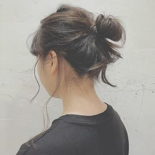 涼しげ ミディアム リラックス 夏 ヘアスタイルや髪型の写真・画像