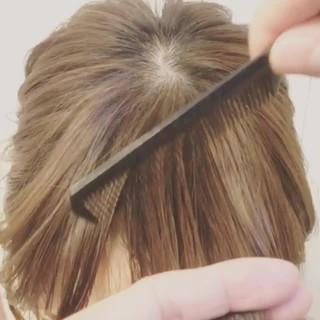 巻き髪 ミディアム ストリート 前髪あり ヘアスタイルや髪型の写真・画像