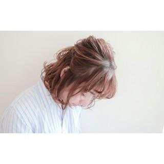 簡単ヘアアレンジ 大人女子 ヘアアレンジ 小顔 ヘアスタイルや髪型の写真・画像