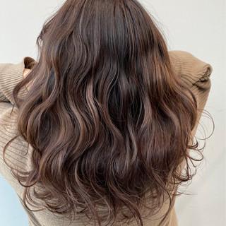 モテ髪 ロング ラベンダーカラー 春 ヘアスタイルや髪型の写真・画像