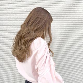 ハイライト 大人かわいい ナチュラル セミロング ヘアスタイルや髪型の写真・画像