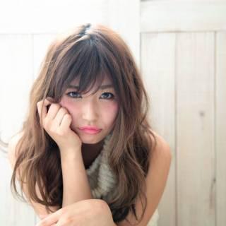 愛され モテ髪 フェミニン 春 ヘアスタイルや髪型の写真・画像