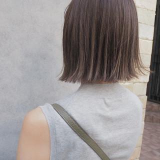 秋 ハイライト リラックス ナチュラル ヘアスタイルや髪型の写真・画像