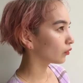 ショートヘア ナチュラル ハンサムショート ベリーショート ヘアスタイルや髪型の写真・画像