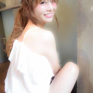 愛され ヘアアレンジ セクシー かわいい ヘアスタイルや髪型の写真・画像