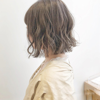 切りっぱなしボブ ウルフカット ミニボブ ショートヘア ヘアスタイルや髪型の写真・画像