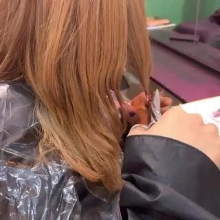 レイヤー ナチュラル オフィス イメチェン ヘアスタイルや髪型の写真・画像