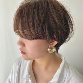 ショート ショートヘア アンニュイ ショートボブ ヘアスタイルや髪型の写真・画像