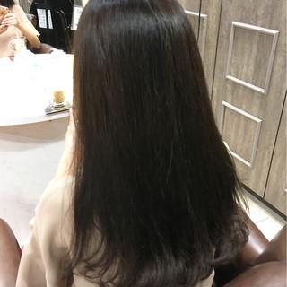 暗髪 ナチュラル 冬 ゆるふわ ヘアスタイルや髪型の写真・画像