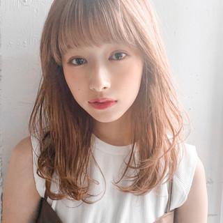 大人ミディアム 大人かわいい デジタルパーマ ミディアム ヘアスタイルや髪型の写真・画像