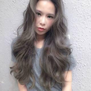 暗髪 ナチュラル ロング ショート ヘアスタイルや髪型の写真・画像