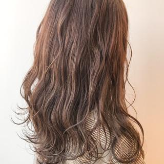 女子力 コンサバ イエロー ナチュラル ヘアスタイルや髪型の写真・画像