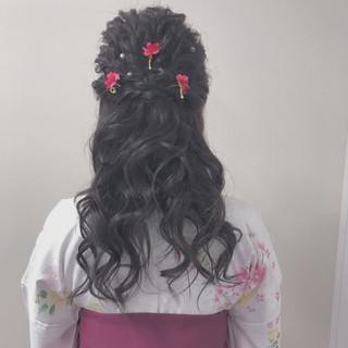 成人式ヘア ヘアアレンジ 成人式 エレガント ヘアスタイルや髪型の写真・画像