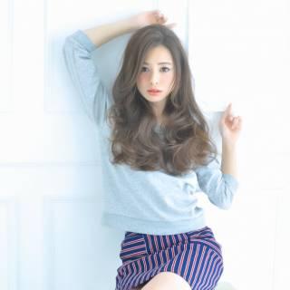 秋 ウェーブ モテ髪 コンサバ ヘアスタイルや髪型の写真・画像