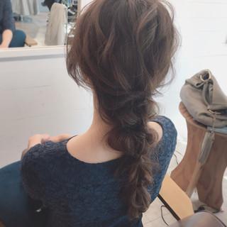 愛され ヘアアレンジ バレンタイン 謝恩会 ヘアスタイルや髪型の写真・画像