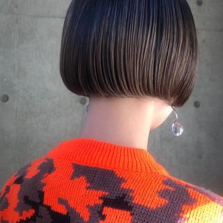 まとまるボブ ショートボブ ミニボブ ナチュラル ヘアスタイルや髪型の写真・画像
