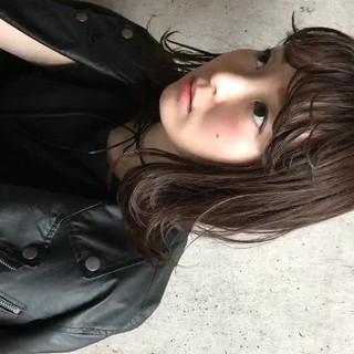 ナチュラル 前髪あり 色気 デート ヘアスタイルや髪型の写真・画像