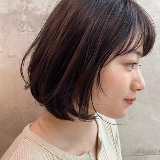 ショートヘア パーマ 小顔ショート ショートボブ ヘアスタイルや髪型の写真・画像