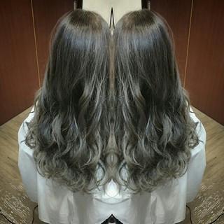 渋谷系 外国人風 ロング ストリート ヘアスタイルや髪型の写真・画像