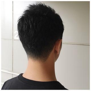 黒髪 就活 メンズカット 刈り上げ ヘアスタイルや髪型の写真・画像