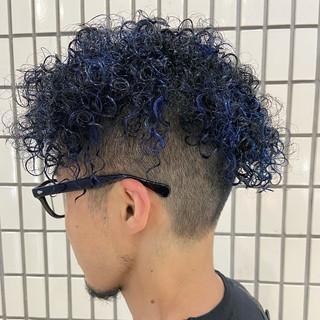 メンズヘア ショート モード 刈り上げショート ヘアスタイルや髪型の写真・画像