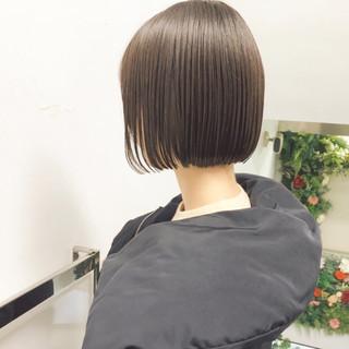 ヘアアレンジ ナチュラル アンニュイほつれヘア ボブ ヘアスタイルや髪型の写真・画像