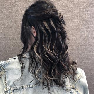 成人式 3Dハイライト デート 外国人風カラー ヘアスタイルや髪型の写真・画像