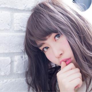 ゆるふわ 大人かわいい 外国人風 ガーリー ヘアスタイルや髪型の写真・画像