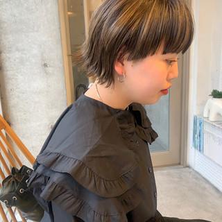 ボブ ウルフカット ショートヘア モード ヘアスタイルや髪型の写真・画像