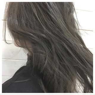 外国人風カラー ハイライト 外国人風 モード ヘアスタイルや髪型の写真・画像