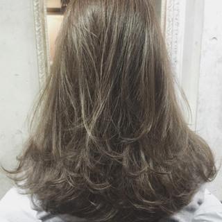 ストリート ハイライト 透明感 ダブルカラー ヘアスタイルや髪型の写真・画像