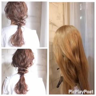 フェミニン ショート ヘアアレンジ 外国人風 ヘアスタイルや髪型の写真・画像