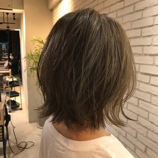 ボブ ミニボブ コンサバ ひし形シルエット ヘアスタイルや髪型の写真・画像