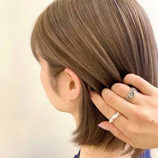 透明感カラー ハイライト ナチュラル 極細ハイライト ヘアスタイルや髪型の写真・画像