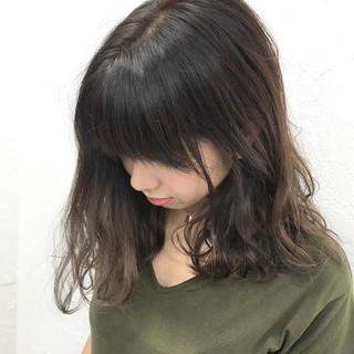 ボブ ミディアム グラデーションカラー 色気 ヘアスタイルや髪型の写真・画像