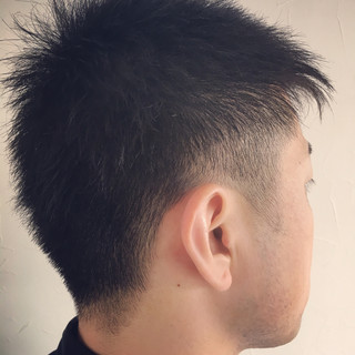 メンズショート メンズカット ストリート メンズヘア ヘアスタイルや髪型の写真・画像