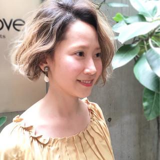 似合わせ ストリート 外国人風カラー ミルクティー ヘアスタイルや髪型の写真・画像