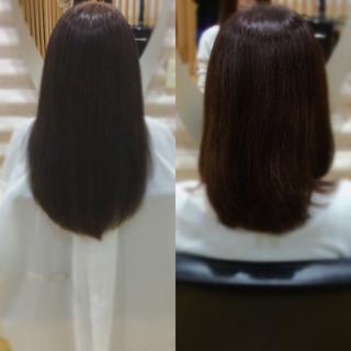 ナチュラル ロング ロングヘアスタイル 髪質改善カラー ヘアスタイルや髪型の写真・画像