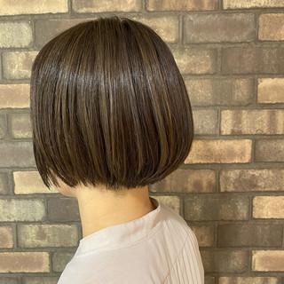 ハイライト イルミナカラー ナチュラル N.オイル ヘアスタイルや髪型の写真・画像