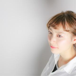 かっこいい 大人女子 イルミナカラー フェミニン ヘアスタイルや髪型の写真・画像
