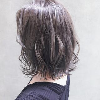 ミニボブ 外国人風カラー イルミナカラー ナチュラル ヘアスタイルや髪型の写真・画像