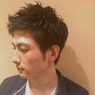 ナチュラル メンズスタイル メンズカット メンズショート ヘアスタイルや髪型の写真・画像