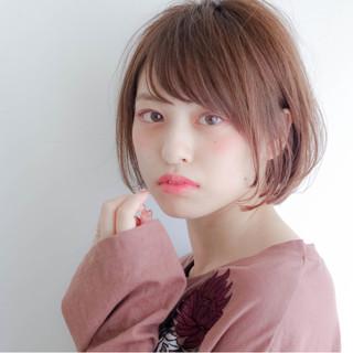 冬 前髪あり 外国人風 ナチュラル ヘアスタイルや髪型の写真・画像
