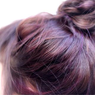 ショート 簡単ヘアアレンジ ミディアム ヘアアレンジ ヘアスタイルや髪型の写真・画像