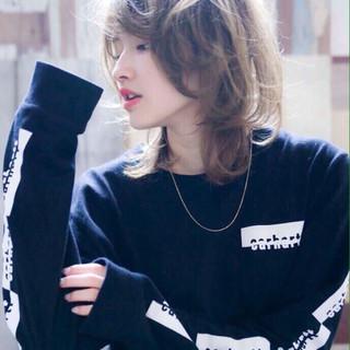 ゆるふわ ストリート バレンタイン ナチュラル ヘアスタイルや髪型の写真・画像