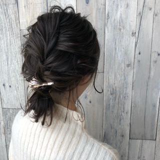 簡単ヘアアレンジ デート ヘアアレンジ バレンタイン ヘアスタイルや髪型の写真・画像