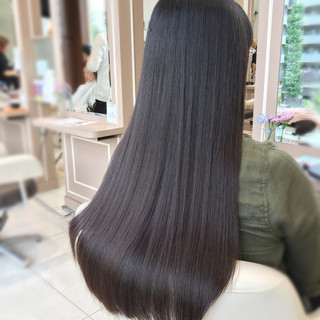 透明感 ナチュラル グレージュ オフィス ヘアスタイルや髪型の写真・画像