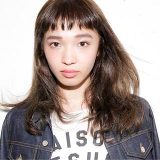 デート 女子会 リラックス 斜め前髪 ヘアスタイルや髪型の写真・画像