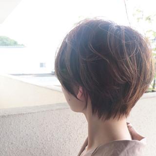 ショートボブ ショートヘア マッシュショート ベリーショート ヘアスタイルや髪型の写真・画像